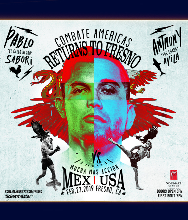 Mixed Martial Arts - Combate Americas - Returns to Fresno